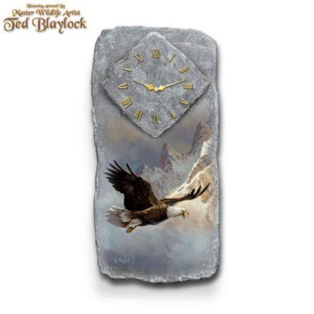 Eagle Ted Blaylock Art Wall Clock Ted Blaylock Breaking