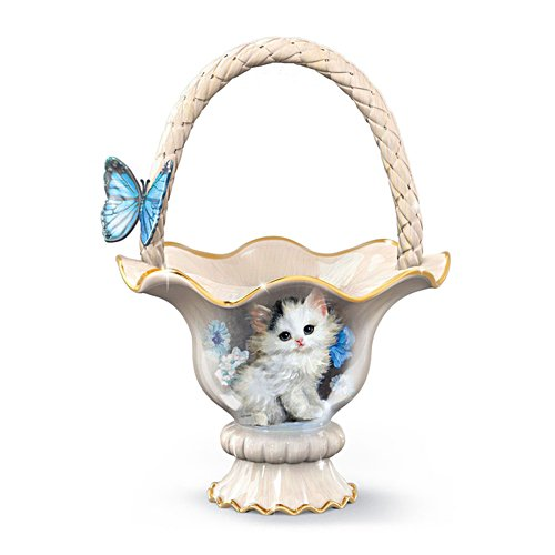'Blue-Eyed Beauty' Kitten Centrepiece