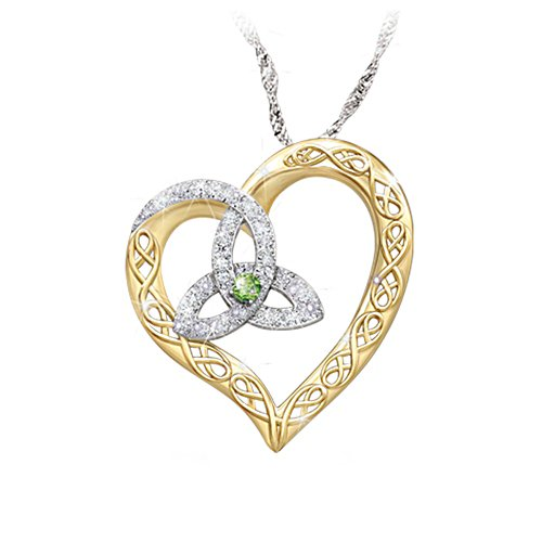 'Irish At Heart' Diamonesk® Pendant