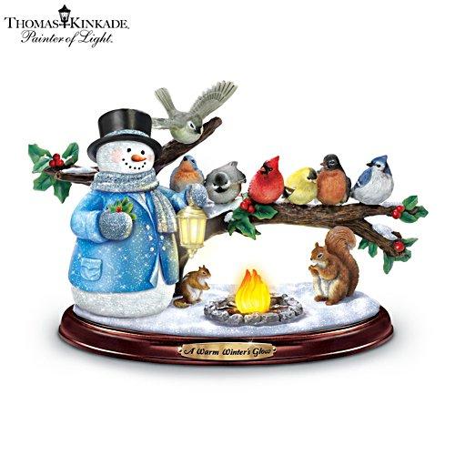 Winterliches Stelldichein – Winterskulptur