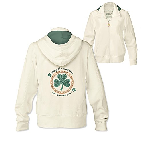 'An Irish Blessing' Ladies' Hoodie