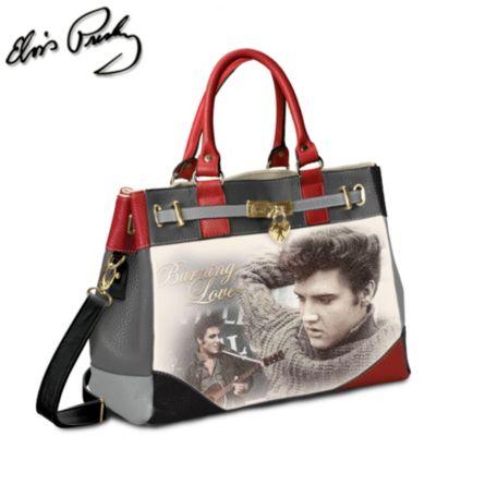 Officially Licensed Elvis Presley Fashion Ladies Handbag