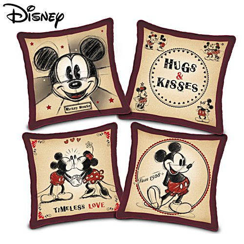 Disney Mickey And Minnie Mouse 'Happy Home' Pillow Set