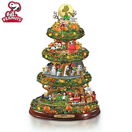 PEANUTS™ Great Pumpkin Halloween Tree Sculpture