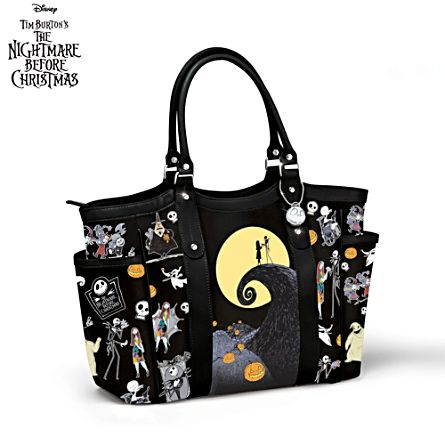Disney Tim Burton's 'The Nightmare Before Christmas' Tote Bag