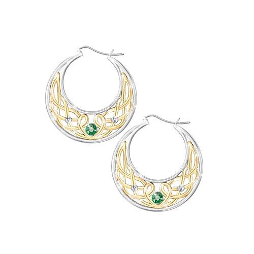 'Love, Loyalty And Friendship' Diamonesk® Earrings