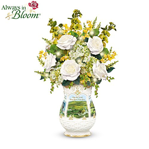 'Blessings Of Ireland' Floral Centrepiece