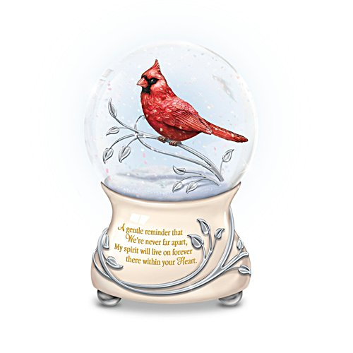 'Messenger From Heaven' Musical Glitter Globe