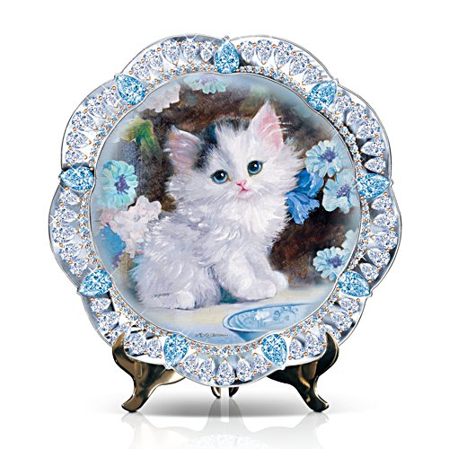 'Blue-Eyed Beauty' Kitten Collector Plate