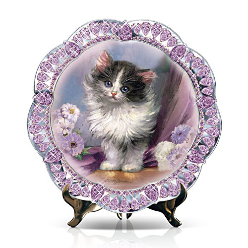 'Sophisti-Cat' Kitten Collector Plate