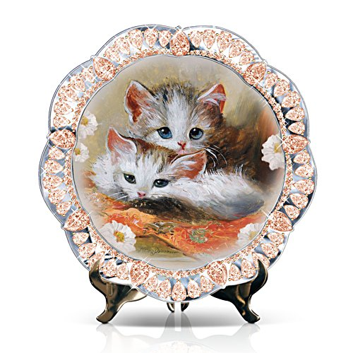 'Cosy Companions' Kitten Collector Plate