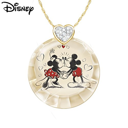Disney 'Timeless Love' Swarovski® Crystal Pendant