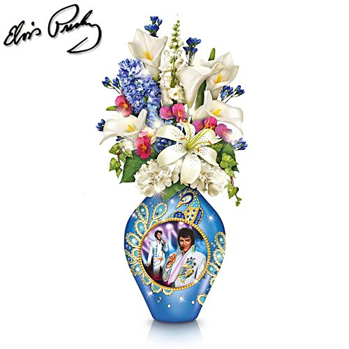 Elvis™ 'Sparkle And Style' Lit Table Centrepiece