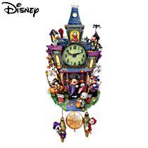 Disney 'Spooktacular Halloween' Wall Clock