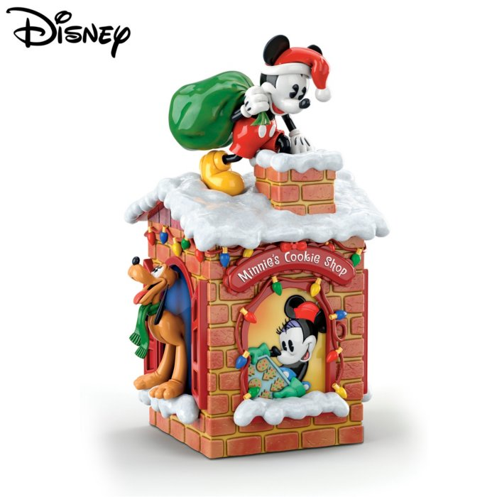 Disney Cookie Jars >> Disney Sweet Holiday Treats Cookie Jar