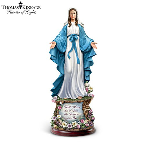 Thomas Kinkade 'Hail Mary, Full Of Grace' Sculpture