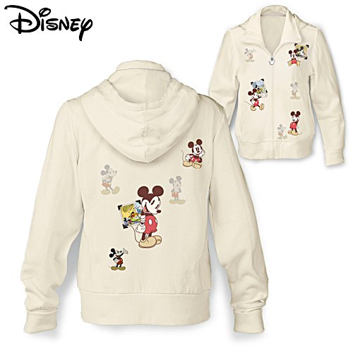 Disney Retro Mickey Mouse Ladies' Hoodie