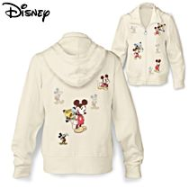 Disney Retro Mickey Mouse Ladies' Hoodie