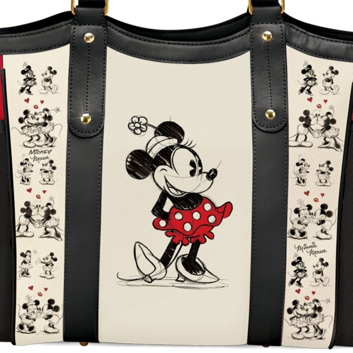 e1493fb8bdec Disney Mickey Mouse And Minnie Mouse 'Love Story' Tote Bag