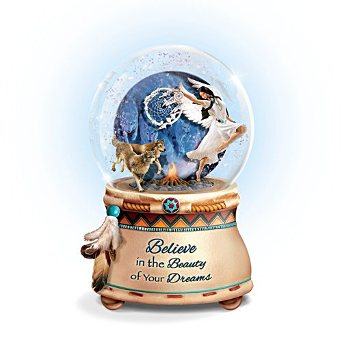'Mystical Dreams' Native American-Inspired Glitter Globe
