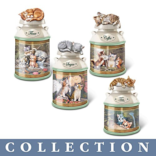 Jürgen Scholz 'Cosy Kittens' Canister Collection