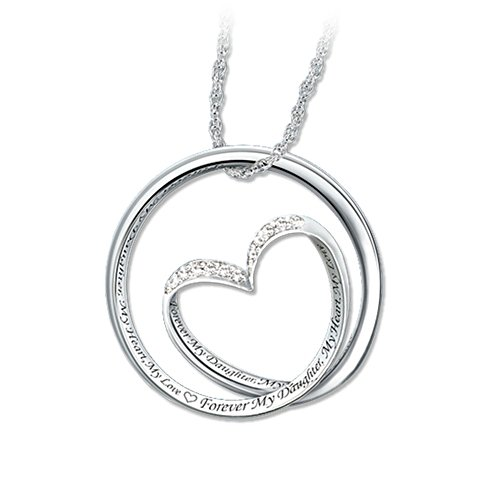 'Forever In My Heart' Daughter Pendant