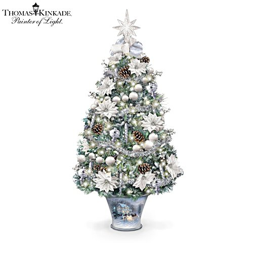 Thomas Kinkade 'Winter Splendour' Tabletop Tree