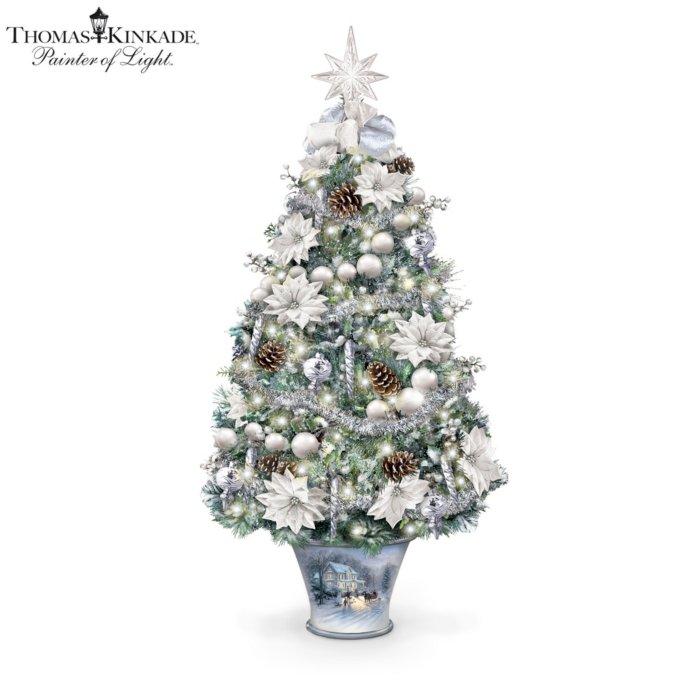 Thomas Kinkade 'Winter Splendour' Tabletop Tree