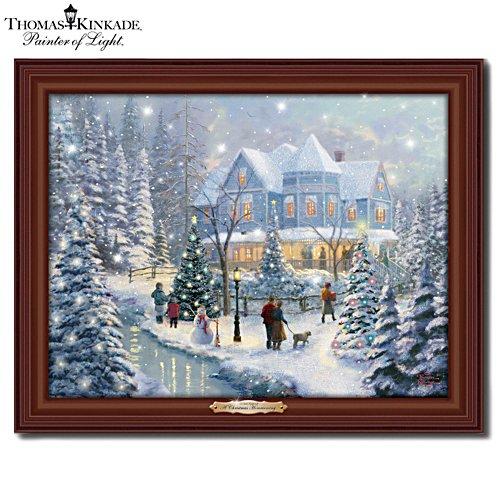 Thomas Kinkade 'A Christmas Homecoming' Wall Décor