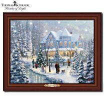 Thomas Kinkade 'A Christmas Homecoming' Wall Décor