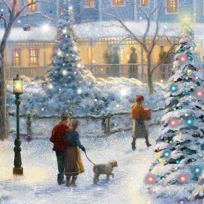 Thomas Kinkade Christmas.Thomas Kinkade A Christmas Homecoming Wall Decor