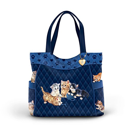 Jürgen Scholz 'Kitty-Kat Cute' Tote Bag