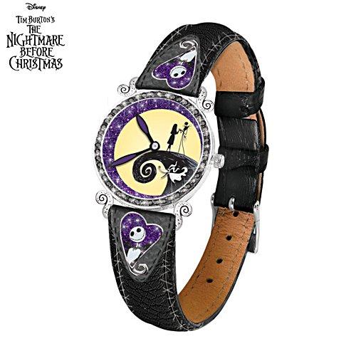 Disney Tim Burton's The Nightmare Before Christmas 'Midnight Magic' Ladies' Watch