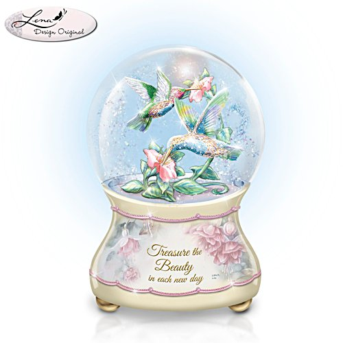 Lena Liu 'Beautiful Treasures' Musical Glitter Globe