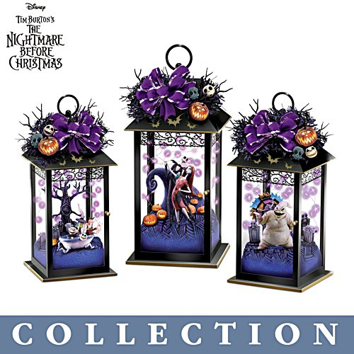 Disney Tim Burton 'The Nightmare Before Christmas' Lantern Collection