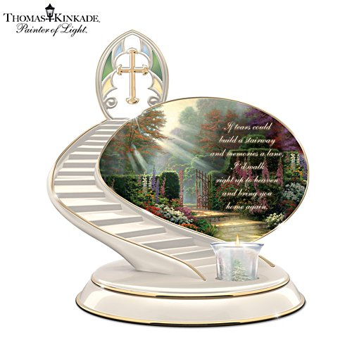 Thomas Kinkade 'Loving Remembrance' Candle Holder