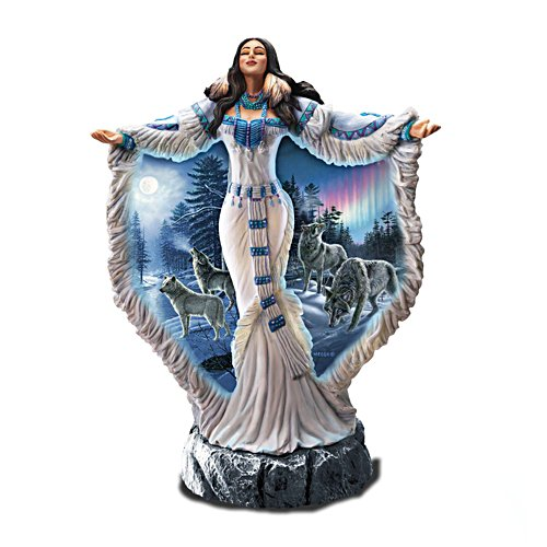 Himmelsanbeterin – Indianerskulptur