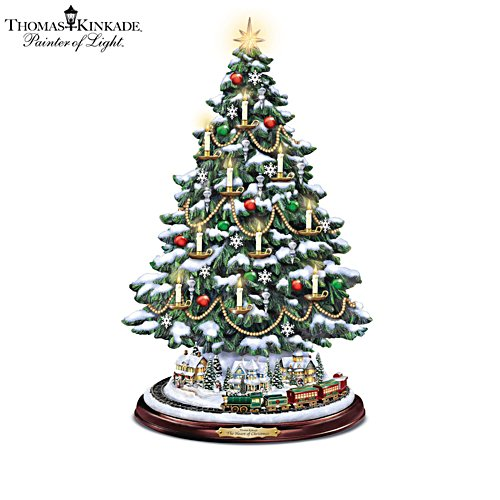 Thomas Kinkade 'The Heart Of Christmas' Tree