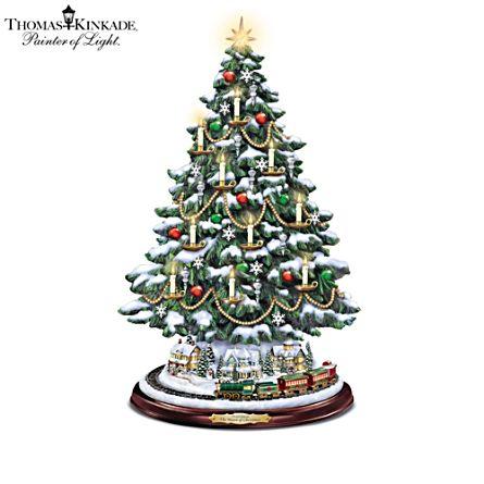 Thomas Kinkade 'The Heart Of Christmas' Tree