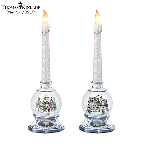 Thomas Kinkade 'Season Of Light' Candleholder Set