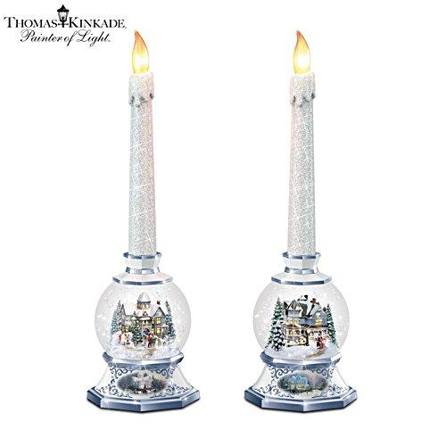 Thomas Kinkade 'Season Of Light' Candleholder Set