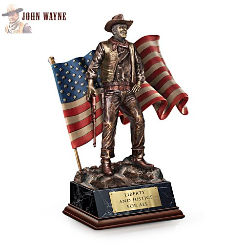 'John Wayne: Liberty And Justice For All' Talking Sculpture
