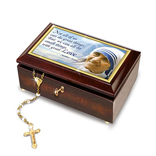 'Blessed Mother, Saint Teresa' Music Box