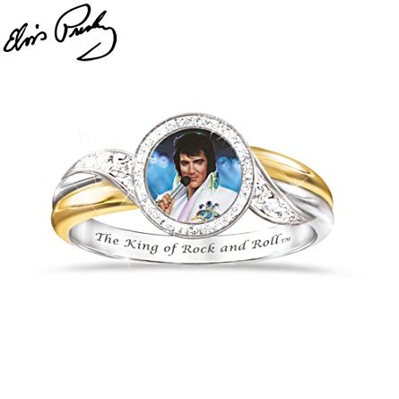 Elvis™ 'Embrace The King' Ring