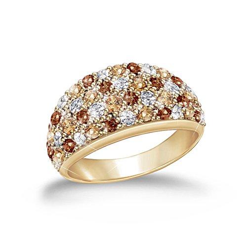 'Wild Beauty' Diamonesk® Ring