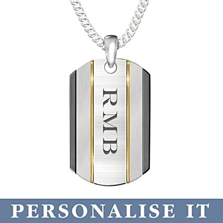 'The Strength Of My Son' Personalised Pendant