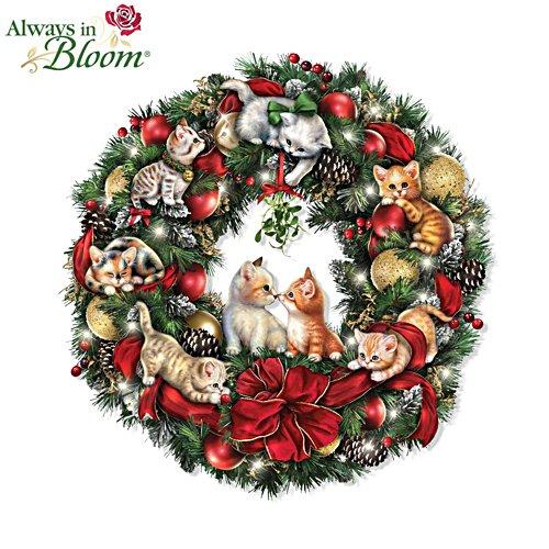 Jürgen Scholz 'Merry Mischief Makers' Illuminated Wreath