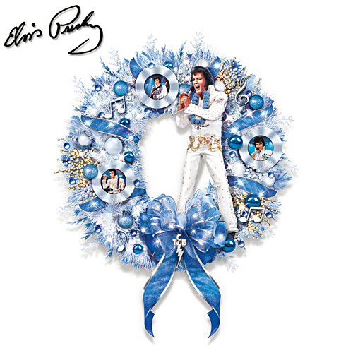 Couronne de Noël d'Elvis – It's a true blue