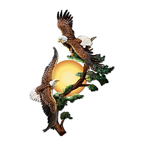 'Soaring Sunrise' Eagle Wall Décor