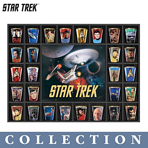 STAR TREK™ Shot Glass Collection